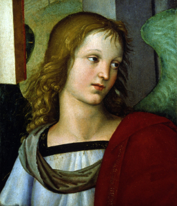Picture no: 30004744 Raphael / Angel / c.1500 Created by: Raffaello Santi (Raffael)