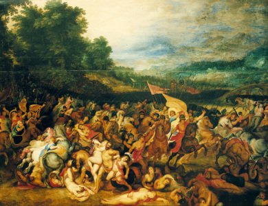 Picture no: 30004786 Rubens / Battle of the Amazons Created by: Rubens, Peter Paul