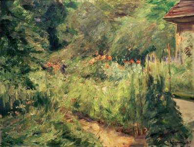 Picture no: 30004822 M.Liebermann, Garden in Wannsee/painting Created by: Liebermann, Max