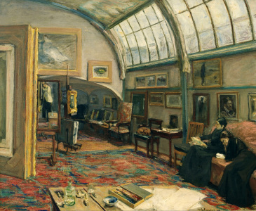 Picture no: 30004834 M.Liebermann / The Artist's Studio Created by: Liebermann, Max