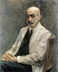 Picture no: 30004886 Liebermann / Self-portrait / 1918 Created by: Liebermann, Max