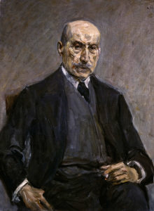 Picture no: 30004888 Max Liebermann / Self-Portrait / 1927 Created by: Liebermann, Max