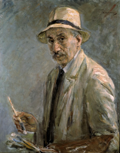 Picture no: 30004890 Max Liebermann / Self-portrait / 1929 Created by: Liebermann, Max