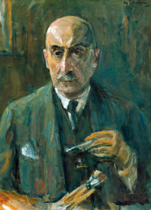 Picture no: 30004892 Max Liebermann / Self-Portrait / 1933 Created by: Liebermann, Max