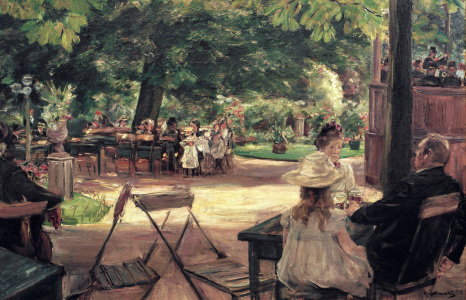 Picture no: 30004922 Max Liebermann, Restaurationsgarten Created by: Liebermann, Max