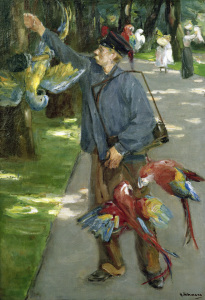 Picture no: 30004974 Liebermann / The parrot-man / 1902 Created by: Liebermann, Max