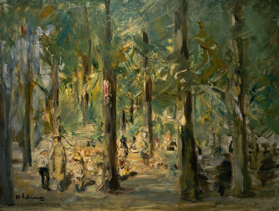 Picture no: 30005024 M.Liebermann,Kinderspielplatz Tiergarten Created by: Liebermann, Max