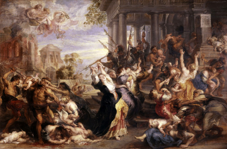 Picture no: 30005038 Rubens / Massacre of the Innocents Created by: Rubens, Peter Paul