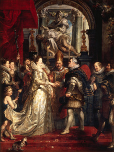 Picture no: 30005044 Rubens / Marriage of Marie de' Medici Created by: Rubens, Peter Paul