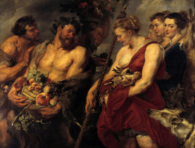 Picture no: 30005046 Rubens / Diana's Return from the Hunt Created by: Rubens, Peter Paul