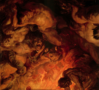 Picture no: 30005060 P.P. Rubens, The Day of Judgement c.1620 Created by: Rubens, Peter Paul