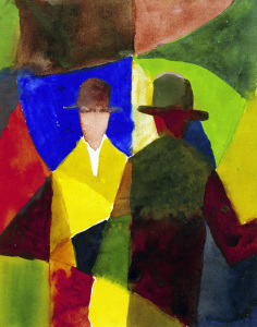 Picture no: 30005102 A.Macke, Mirror Image in Shop Window Created by: Macke, August