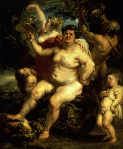 Picture no: 30005132 P.P.Rubens / Bacchus / Ptg./ c.1638/40 Created by: Rubens, Peter Paul