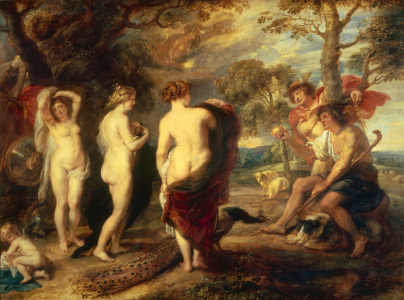 Picture no: 30005140 P. P. Rubens / The Judgement of Paris Created by: Rubens, Peter Paul