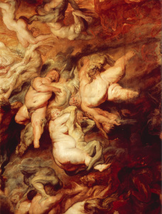 Picture no: 30005146 Descent into Hell / Rubens Created by: Rubens, Peter Paul