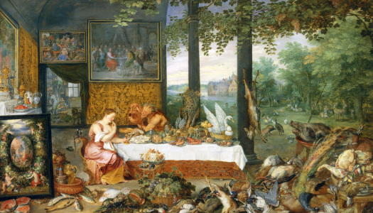 Picture no: 30005180 Brueghel and Rubens / Taste Created by: Rubens, Peter Paul