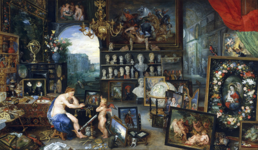 Picture no: 30005182 Brueghel and Rubens / Sight Created by: Rubens, Peter Paul