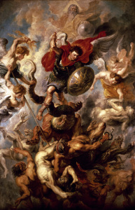 Picture no: 30005210 P. P. Rubens / The Fall of the Angels Created by: Rubens, Peter Paul
