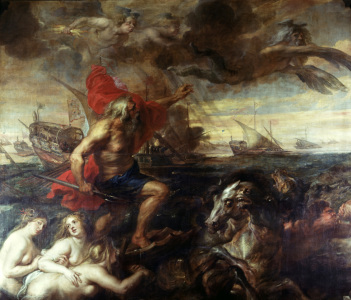 Picture no: 30005212 Rubens / Neptune, calming the Waves Created by: Rubens, Peter Paul