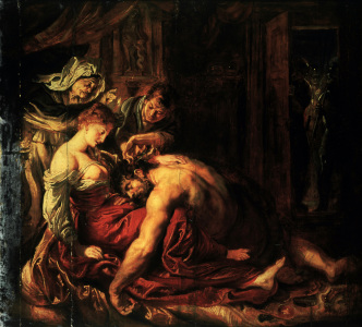 Picture no: 30005216 Samson and Delilah / Rubens Created by: Rubens, Peter Paul