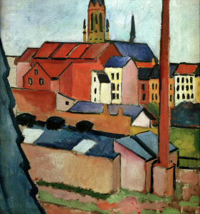 Picture no: 30005218 A.Macke / St. Mary's Church ... / 1911 Created by: Macke, August