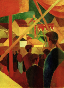 Picture no: 30005228 August Macke, Seiltänzer Created by: Macke, August