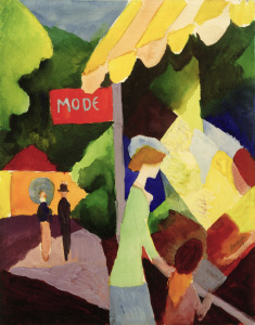 Picture no: 30005234 A.Macke, Modeschaufenster Created by: Macke, August
