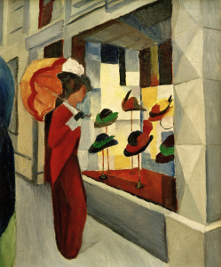 Picture no: 30005236 A.Macke / Hat Shop / 1914 Created by: Macke, August