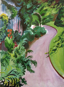 Picture no: 30005238 August Macke, Gartenweg Created by: Macke, August