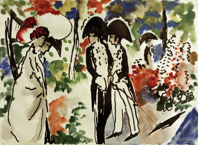 Picture no: 30005256 A.Macke, Promenade Created by: Macke, August