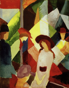 Picture no: 30005264 August Macke, Schaufenster Created by: Macke, August