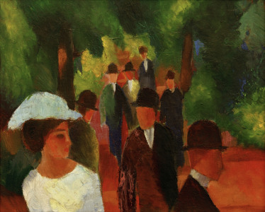 Picture no: 30005266 August Macke, Promenade Created by: Macke, August