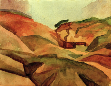 Picture no: 30005308 A.Macke, Schlucht Created by: Macke, August