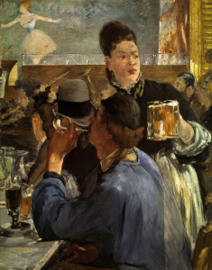 Picture no: 30005340 Manet / The waitress / 1878-79 Created by: Manet, Edouard