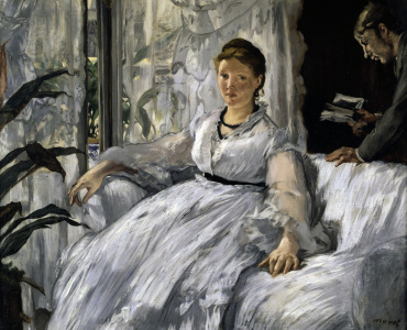 Picture no: 30005346 E. Manet / Reading Created by: Manet, Edouard
