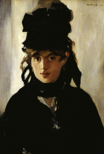 Picture no: 30005348 Berthe Morisot / by E.Manet Created by: Manet, Edouard