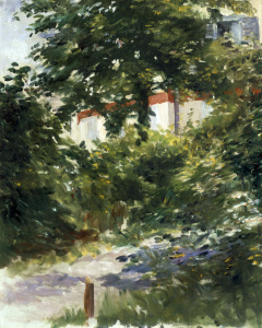 Picture no: 30005350 Manet / House in the Foliage / 1882 Created by: Manet, Edouard