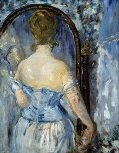 Picture no: 30005352 Edouard Manet / In front of the Mirror Created by: Manet, Edouard