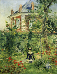 Picture no: 30005358 Manet / Garden of Bellevue / 1880 Created by: Manet, Edouard