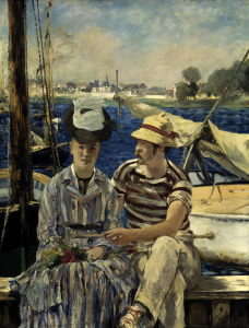Picture no: 30005392 E.Manet / Argenteuil / 1874 Created by: Manet, Edouard