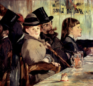 Picture no: 30005400 Edouard Manet / In the Cafe / 1878 Created by: Manet, Edouard