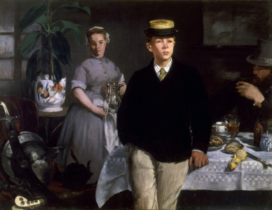 Picture no: 30005404 Manet / Breakfast in the Studio / 1868 Created by: Manet, Edouard