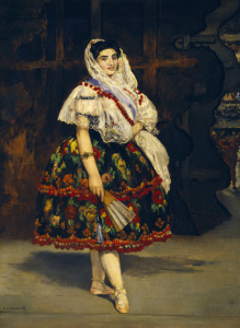 Picture no: 30005442 Manet, Lola de Valence / 1862 Created by: Manet, Edouard