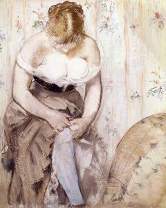 Picture no: 30005446 Manet / The Garter / 1878 Created by: Manet, Edouard