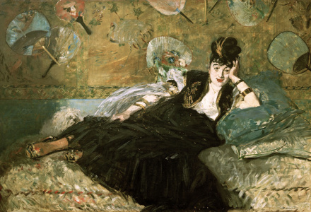 Picture no: 30005454 E.Manet, Woman with a Fan Created by: Manet, Edouard