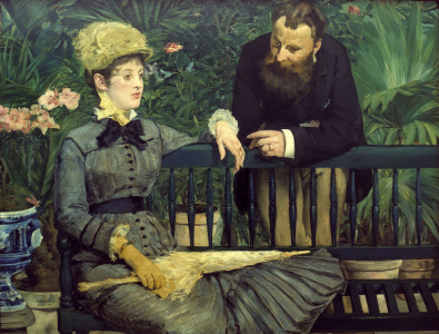 Picture no: 30005462 Manet / In the winter garden / 1879 Created by: Manet, Edouard