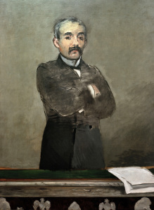 Picture no: 30005470 Georges Clemenceau / Painting by Manet Created by: Manet, Edouard
