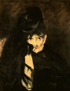 Picture no: 30005474 Berthe Morisot in mourning / Manet, 1864 Created by: Manet, Edouard