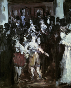 Picture no: 30005478 E.Manet, Maskenball in der Opéra Created by: Manet, Edouard