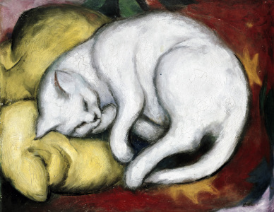 Picture no: 30005506 Franz Marc / The white cat / 1912 Created by: Marc, Franz